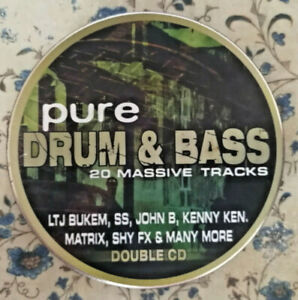 Pure Drum & Bass (1999)  2 × CD, Compilation