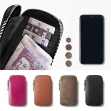 Genuine Leather Mobile Phone Wallet Case For SAMSUNG Galaxy S10 S10+ Note 10 5G