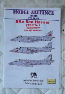 Sea Harrier Decals - Model Alliance