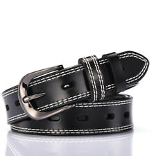 """Womens Leather Belt Thick Retro Jeans belt Ladies All Size Waist 26""""-40"""""""