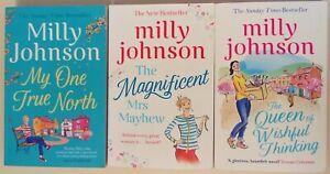 Milly Johnson bundle of 3 books