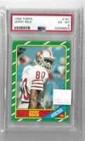 Jerry Rice 1986 Topps RC #161 PSA 6--49'ers
