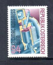 Austria Gomma integra, non linguellato 1979 SG1840 13TH CONGRESSO INT motore a combustione Consiglio