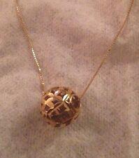 "18"" 10K Gold Necklace B19"