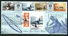 2001 Submarines  FDC - Barrow in Furness & Portsmouth Pmks - Sent Post Free