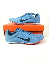 Nike Zoom D Spikes Track Field Running Shoes 819164-446 light blue Size 8.5