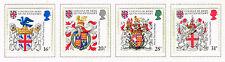 UK Coat of Arms College set 1984 MNH