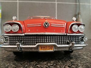 1:18 Buick 1958 Limited Hard Top, by Sun Star, Red White & Chrome, number: 4803