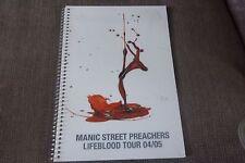 MANIC STREET PREACHERS / TOUR ITINERARY / Lifeblood Tour 2004/2005