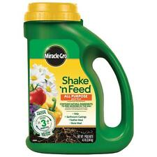 Miracle-Gro Shake n Feed 4.5 lbs. All Purpose Plant Food Garden Fertilizer