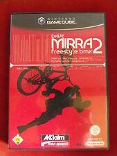 NINTENDO GAMECUBE SPIEL DAVE MIRRA FREESTYLE BMX 2 + ANLEITUNG