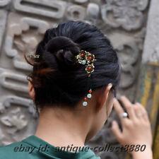 Style Classical Agate/Aventurine Jade Hairpin Hair Clasp Hair Accessories 0607