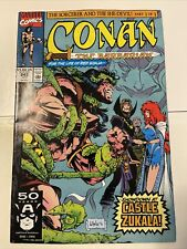 CONAN  (1970 Series)  (CONAN THE BARBARIAN) (MARVEL) #243 Red Sonya