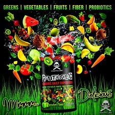 PHYTOBOLIC GREENS VEGGIES FRUITS FIBER PRE & PROBIOTICS  SUPERFOOD CHAOTIC LABZ