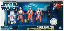 Hasbro Star Wars YAVIN PILOT Pack Toys R Us Exclusive 5 3.75 Action Figures NEW