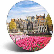 Awesome Fridge Magnet - Amsterdam Netherlands Houses Cool Gift #3035