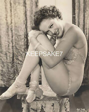 1930's ACTRESS-DANCER PAT FARA SKIMPY COSTUME SEXY LEGGY 8x10  PHOTO A-PFAR