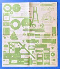 Traforo Fretwork - Hobbies Design N° 2684 - Model of  Mechanical Shovel