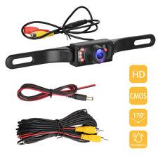 License Plate Car Rear View Reverse Backup Camera Night Vision Waterproof Cams
