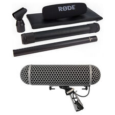 Rode NTG3 Precision RF-Biased Shotgun Microphone (Black) with Rode Blimp