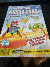 Adventures of the Super Mario Brothers #7 FN 6.0 1991 Stock Image