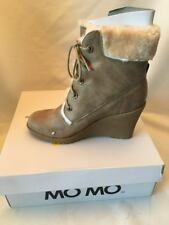 NEW WITH BOX MOMO BROWN BOOT - WEDGE - SIZE 8 -Lace Adorable FREDDY CARMEL