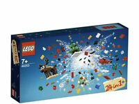 Perfect LEGO Christmas Build Up Gift 40253 Brand New Boxed Free UK Delivery