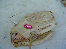 """New listing Rawlings RBG36 Soft Leather 12 1/2"""" Baseball Glove for a Right-Handed Thrower"""
