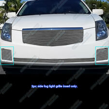 Fits 2003-2007 Cadillac CTS Fog Light Cover Billet Grille Grill Inserts