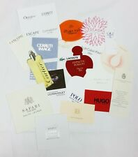 20 x Duftkarten / 20 x perfumed card / 20 x carte parfumée *LOT 005*