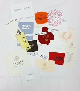 20 x Duftkarten / 20 x perfumed card / 20 x carte parfumée *LOT 005*
