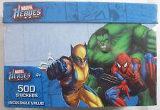 Stickerfitti Marvel Heroes 500 Sticker Set - New in Sealed Box 2011