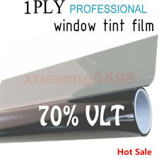 50cm*1M Black Glass Window Tint Shade Film VLT 70% Auto Car House Roll New