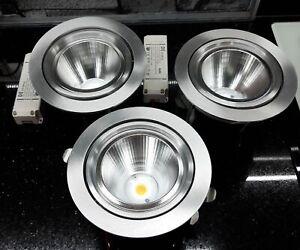 Brumberg 3 hochwertige LED Einbau Downlights 31W / 3000K Ausstellungsstück