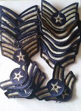 Lot de 26 grades de bras divers US Air Force après guerre et Viêtnam années 60.