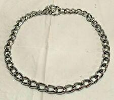 "Large Dog Choke Chain - Collar - Obedience Collar 29"" / 8"" Diameter Round"