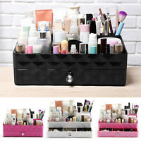 Makeup Cosmetic ABS Holder Perfume Jewellery Case Storage Organizer Box Drawers