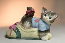 Calico Kittens: Your Friendship Keeps Me Fit - 314005 - Kitten in Sneaker