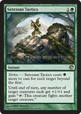 Journey Into Nyx ~ SETESSAN TACTICS rare Magic the Gathering card