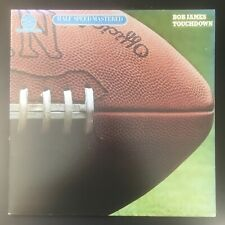 BOB JAMES Touchdown HALF SPEED MASTERED AUDIOPHILE TAPPEN ZEE VINYL LP EX