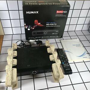 Humax HD-FOX T2 Digital Television Freeview HD -  Remote & Manual - Boxed