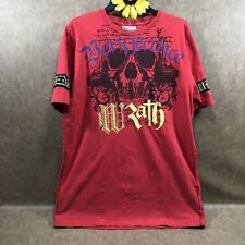 5a9386124 Blac Label Mens Graphic T-Shirt X Large Vengeance Wrath 100% Cotton Red  as4205