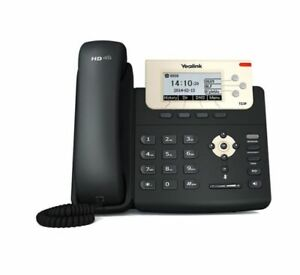 Yealink T23P IP Phone, 3 Lines. 2.8-Inch Graphical LCD Dual-Port 10/100 Ethernet