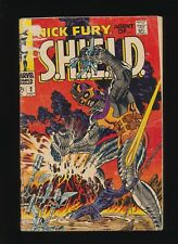 Nick Fury Agent of Shield #2! Marvel 1968! Steranko! SEE PICS AND SCANS! WOW!