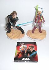 DISNEY INFINITY 3.0 Star Wars Anakin Skywalker Ahsoka Tano Figure Character Card