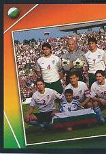 N°198 TEAM EQUIPE SQUADRA 1/2 # BULGARIA STICKER VIGNETTE PANINI EURO 2004