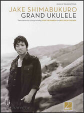 Jake Shimabukuro Grand Ukulele TAB Music Book