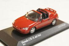 Honda Civic CR-X Del Sol rot 1993 1:43  Minichamps neu & OVP