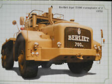 CAMION BERLIET T 100 N° 2 PHOTO FORMAT CARTE POSTALE