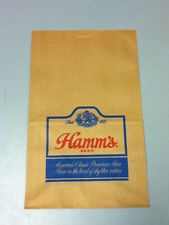Hamm's beer sign bar signs 1 store brown paper bag Hamms brewery vintage VV3